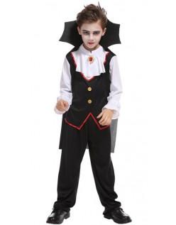 Gutter Edle Halloween Vampyr Kostyme for Barn