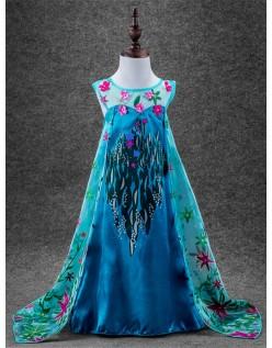 Frozen Elsa Prinsesse Kostyme Barn