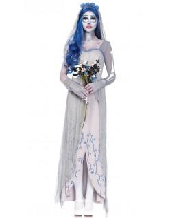 Halloween Zombie Kostyme Dame