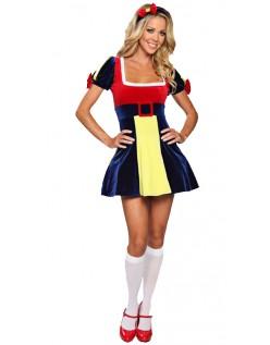 Sexy Halloween Snøhvit Kostyme