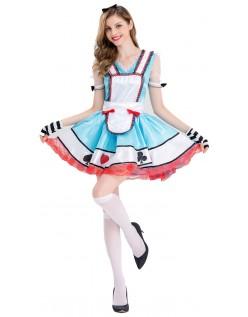 Utover Alice i Eventyrland Alice Kostyme