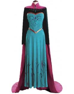 Frozen Prinsessekjole Reiser Anna Kostyme for Voksne