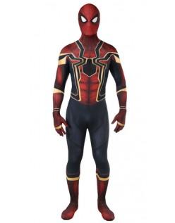Avengers 3 Homecoming Voksen Spiderman Kostyme
