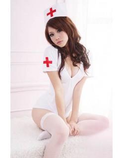 Elastisitet Sykepleier Kostyme