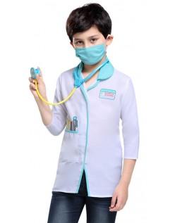 Doktor Kostyme for Barn Sykepleier Kostyme
