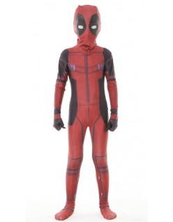 Deluxe Deadpool Kostyme for Baarn Marvel Cosplay Morphsuit