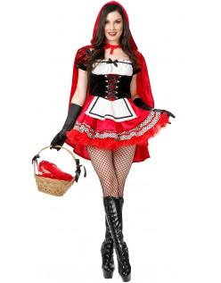 Varm Rødhette Kostyme Dame