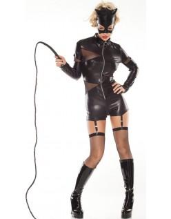 Sexy Wild Halloween Catwoman Kostyme