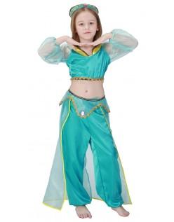 Arabisk Prinsesse Jasmine Kostyme Barn