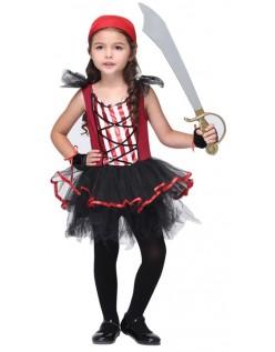 Nyhet Jente Pirat Kostymer til Halloween