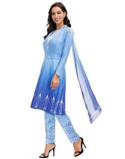 Frozen 2 Prinsesse Elsa Kostyme for Kvinner