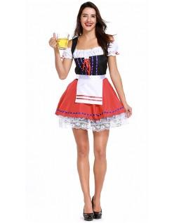 Oktoberfest Kostyme Overdådig Tyroler Kostyme