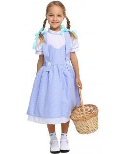 Dorothy Barnekostyme Trollmannen fra Oz Kostymer