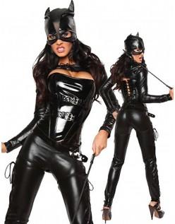 Sexy Superhelt Catwoman Kostyme