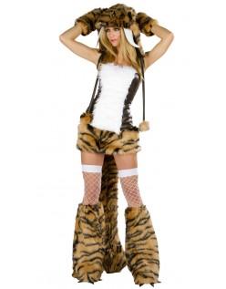 Voksen Tiger Kostyme for Halloween