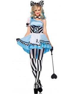 Alice i Eventyrland Psychedelic Alice Kostyme