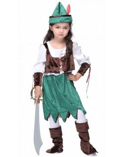 Korsett Halloween Pirat Skog Prinsesse Kostyme
