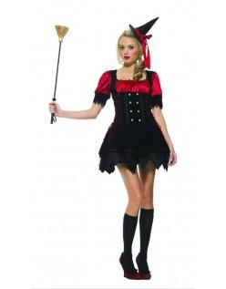 Magisk Heks Kostyme Halloween Kostymer