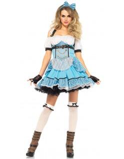 Rebel Alice Kostyme Alice i Eventyrland Kostyme