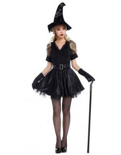 Halloween Forheksende Stikk Heks Kostyme