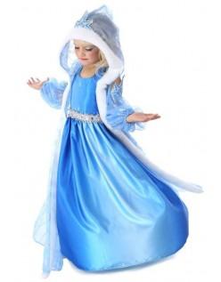 Frozen Kostyme Prinsesse Elsa Kjole Barn
