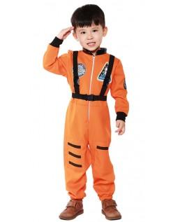 Lille Astronaut Kostyme Barn Oransje