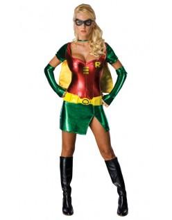 Sexy Robin Kostyme Superhelt Kostyme