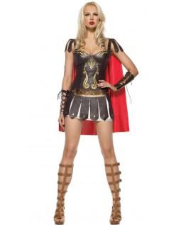 Gladiator Prinsesse Kostyme