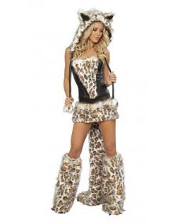 Spretten Leopard Kostyme Dyrekostymer