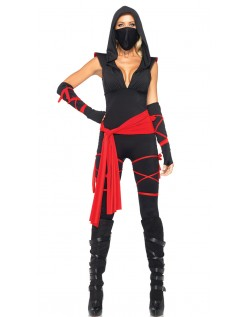 Halloween Stealth Ninja Kostyme Dame