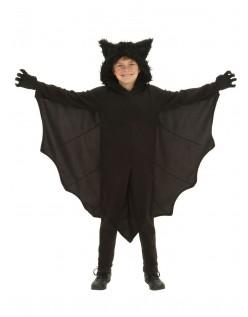 Jenter Halloween Fleece Bat Kostyme Barn