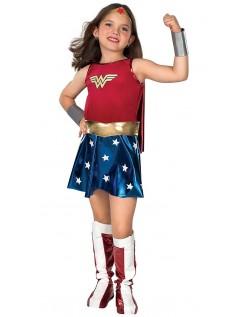 Jente Superhelt Wonder Woman Kostyme Barn
