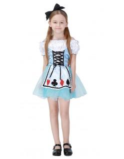 Alice i Wonderland Alice Kostyme Jente