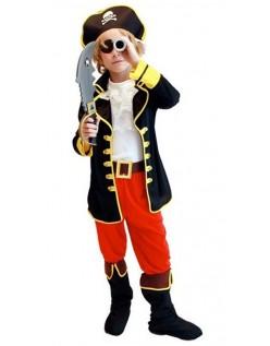 Kapteinen Jack Halloween Pirat Kostyme Barn