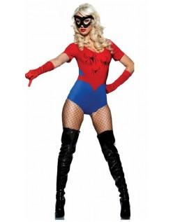 Spidergirl Kostyme Superhelt Kostymer