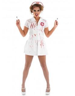 Mareritt Halloween Sykepleier Kostyme
