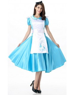 Alice i Eventyrland Te Tid Alice Kostyme