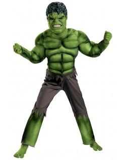 Barn Avengers Hulk Muskel Kostyme