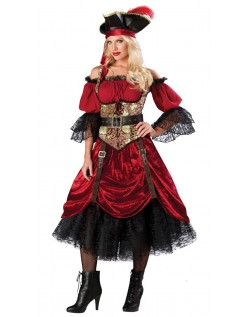 Swash Bucklin 'Scarlet Elite Pirat Kostyme