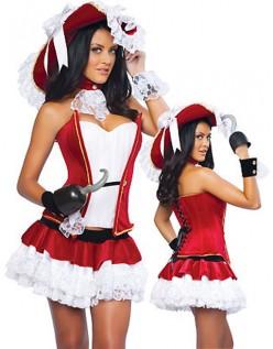 Sexy Piratkaptein Kostymer Halloween Kostymer