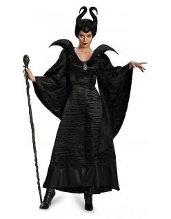 Maleficent Dåpskjole Heksekostyme