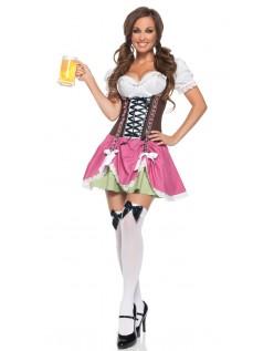 Sexy Oktoberfest Kostyme Swiss Jente Kostyme