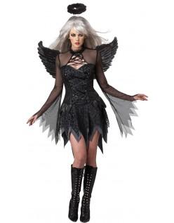 Sexy Falt Engel Kostyme