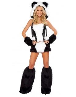Sexy Plysj Bjørn Panda Kostyme