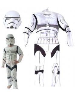 Star Wars Stormtrooper Muskel Kostyme Barn