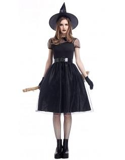 Forhekset Halloween Heksekostyme