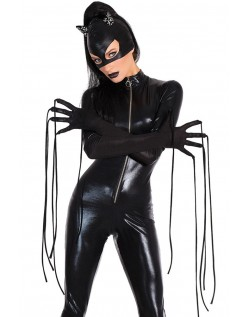 Catsuit Hard Wetlook Catwoman Kostyme