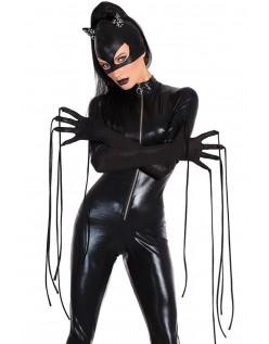 Catsuit Hard Wetlook Catwoman Kostyme