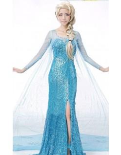 Billig Frozen Elsa Kostyme Voksen