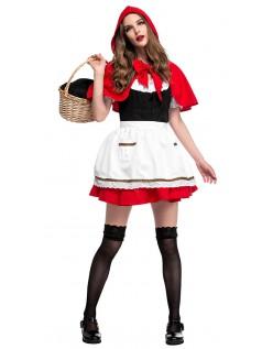 Lol Lille Rødhette Kostyme Dame